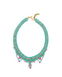 Venessa Arizaga - Blue Summer Love Necklace - Lyst