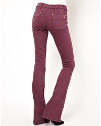 M.i.h Jeans - Purple Skinny Marrakesh Flared Jean in Violet - Lyst