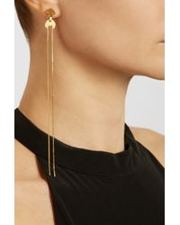 Maria Black - Metallic Boyo Goldplated Earrings - Lyst