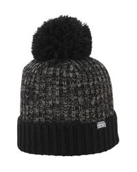 Converse | Black Pom Knit Cap for Men | Lyst
