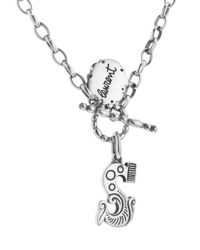 Laurent Gandini - Metallic Short Carousel Necklace - Lyst