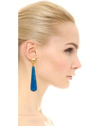 Kenneth Jay Lane | Drop Earrings - Light Blue | Lyst