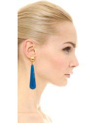 Kenneth Jay Lane - Drop Earrings - Light Blue - Lyst