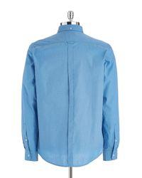 Ben Sherman   Blue Classic End-on-end Sportshirt for Men   Lyst