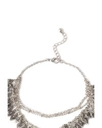Forever 21 - Metallic Medallion Hand Chain - Lyst