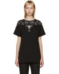 Marcelo Burlon - Black And Grey Liuco T_shirt - Lyst