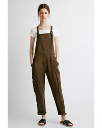 7206e1c535d2 Forever 21 Contemporary Utility Linen Overalls You ve Been Added To ...