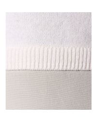 Vince - White Wool, Cashmere And Silk Sweater - Lyst