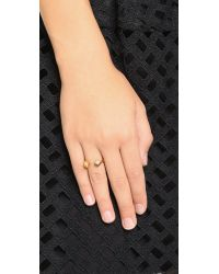 Tai | Metallic Cuff Ring | Lyst