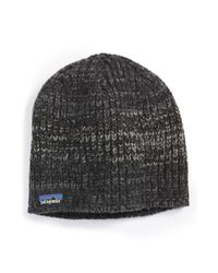 Patagonia | Black 'speedway' Beanie for Men | Lyst