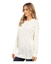 RVCA | White Krystalized Sweater | Lyst