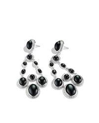 David Yurman - Metallic Renaissance Chandelier Earrings With Diamonds - Lyst