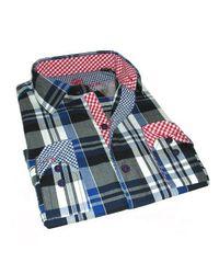 Giorgio Bellini - Blue Americana Sport Shirt Phantom Slim Collection for Men - Lyst
