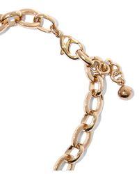 Lulu Frost - Metallic Gold-plated Lumen Necklace - Lyst