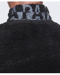 Napapijri | Black Yupik Fleece Jacket for Men | Lyst