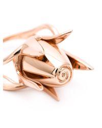 Eddie Borgo - Metallic Rose Bud Ring - Lyst