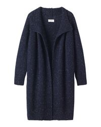 Toast | Blue Donegal Wool Coat | Lyst