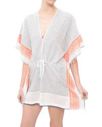 lemlem | Orange Biftu Flutter Cover Up | Lyst