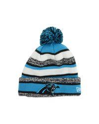 c30958b6e2b Lyst - KTZ Carolina Panthers Sport Knit Hat in Blue for Men