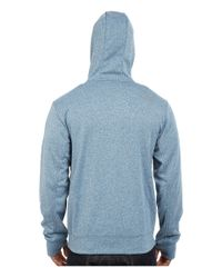 The North Face - Blue Surgent Half Dome Full Zip Hoodie for Men - Lyst