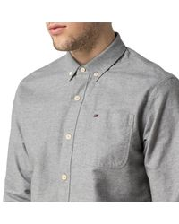 Tommy Hilfiger - Gray Andre Shirt for Men - Lyst