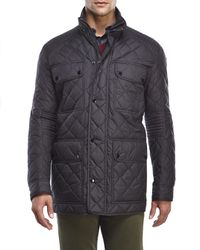 Marc New York | Black Essex Quilted Jacket for Men | Lyst