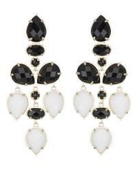 Kendra Scott | Pacey Earrings, Black | Lyst