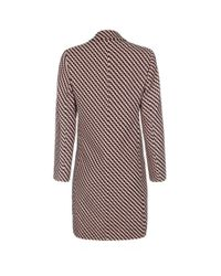 Paul Smith - Natural Textured Peach And Black Epsom Coat - Lyst