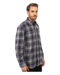Carhartt | Gray Force Reydell Long Sleeve Shirt for Men | Lyst