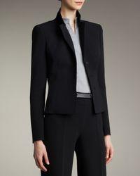 Akris | Black Short Evening Jacket | Lyst