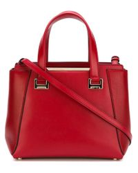 Jimmy Choo - Red 'Alfie' Tote Bag - Lyst