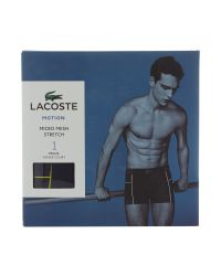 Lacoste | Blue Motion Jacquard Mesh Plain Trunk for Men | Lyst