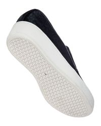 J/Slides - Jibbie Slip-on Sneaker Black Hair Calf - Lyst