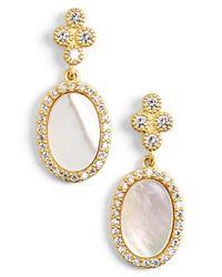 Freida Rothman - Metallic 'femme' Stone Drop Earrings - Lyst