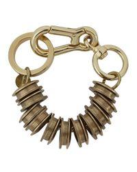 Moxham | Metallic Xeno Gold-plated Chain Bracelet | Lyst