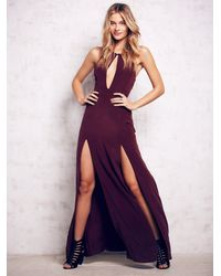 Free People | Purple Owen Gown | Lyst