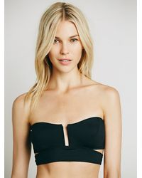 Free People - Black Intimately Womens Such A Square Bandeau - Lyst