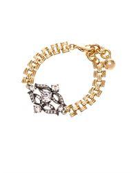 Lulu Frost - Metallic Rococo Chain Bracelet - Lyst