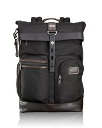 Tumi | Brown Alpha Bravo Luke Roll-top Backpack for Men | Lyst