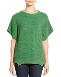 Chaus | Green Dolman Sleeve Ribbed Sweater | Lyst