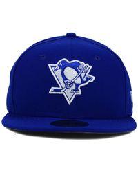 KTZ | Blue Pittsburgh Penguins C-dub 59fifty Cap for Men | Lyst