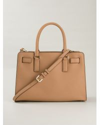 MICHAEL Michael Kors - Brown 'dillon' Tote - Lyst