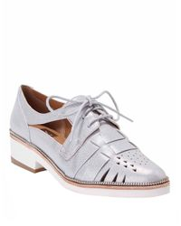 Dolce Vita - Metallic Pepita Oxfords - Lyst