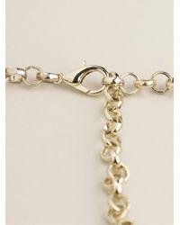 Night Market - Blue Crystal Bead Necklace - Lyst