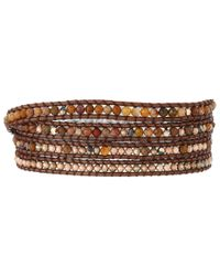 Chan Luu | Brown 32' Pietersite Mix Wrap Bracelet | Lyst
