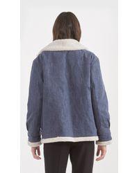 Rachel Comey - Blue Vigilant Coat - Lyst