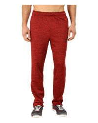 Adidas | Red Team Issue Fleece Taper Pants for Men | Lyst