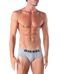 DIESEL | Gray Umbr-jack for Men | Lyst