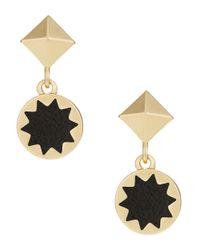 House of Harlow 1960 - Black Mini Starburst Drop Earrings - Lyst