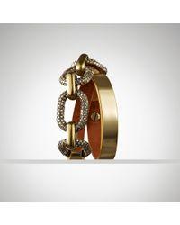 Ralph Lauren - Metallic Pav Chain Bracelet for Men - Lyst